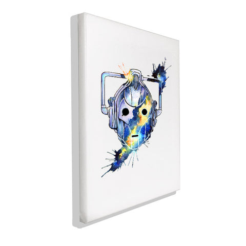 Dr Who - Cyberman - Wall Canvas