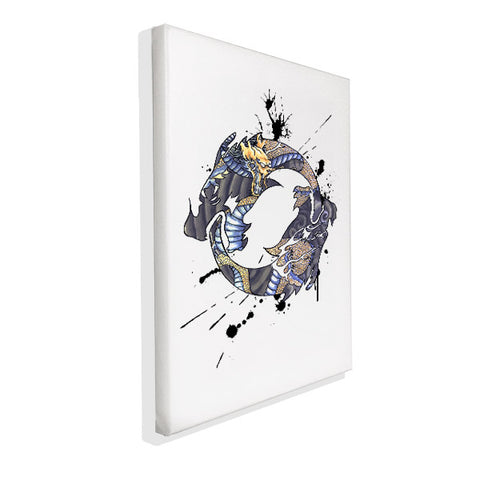 Overwatch - Hanzo Spray Tag - Wall Canvas