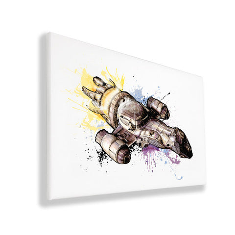 Serenity - Firefly - Wall Canvas