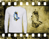 Dr Who - Dalek - Mens and Ladies White Shirt/Hooded Top