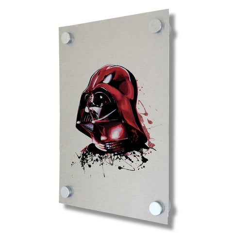 Star Wars - Darth Vader - Brushed Metal Print