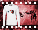 Deadpool - Mens and Ladies White Shirt/Hooded Top