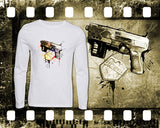 Dredd - Mens and Ladies White Shirt/Hooded Top
