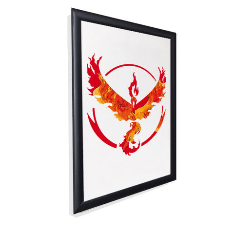 Pokemon Go - Team Valor - Gloss Print