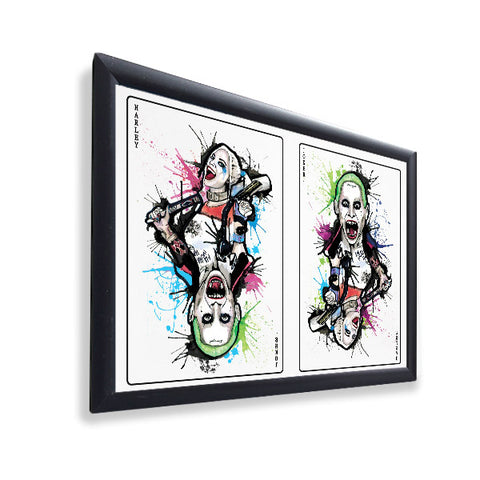 Suicide Squad - Joker and Harley - Gloss Print