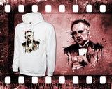 The Godfather - Mens and Ladies White Shirt/Hooded Top
