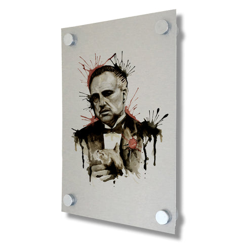 The Godfather - Brushed Metal Print