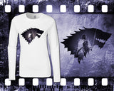 Game of Thrones - Jon Snow - Mens and Ladies White Shirt/Hooded Top