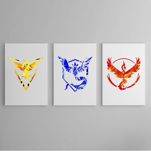 The Pokemon Collection - Team Mystic, Team Instinct and Team Valor