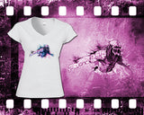 Predator - Mens and Ladies White Shirt/Hooded Top