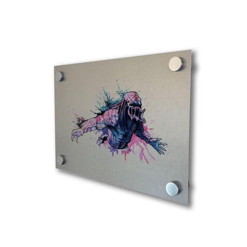 Predator - Brushed Metal Print