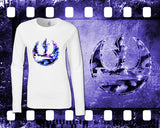 Star Wars - Rebel Alliance - Mens and Ladies White Shirt/Hooded Top