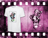 Suicide Squad - Harley & Joker - Mens and Ladies White Shirt/Hooded Top