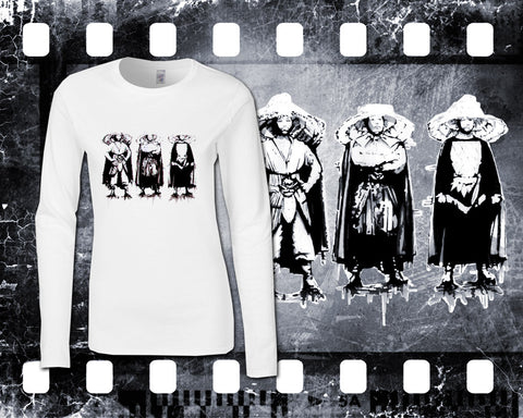 Original Art Inspired by Big Trouble In Little China - The Three Storms - Ladies Long Sleeve Shirt