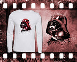 Star Wars - Darth Vader - Mens and Ladies White Shirt/Hooded Top