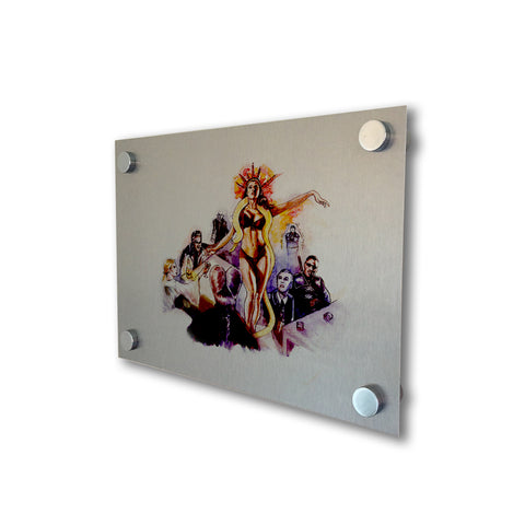 Vampires - Brushed Metal Print