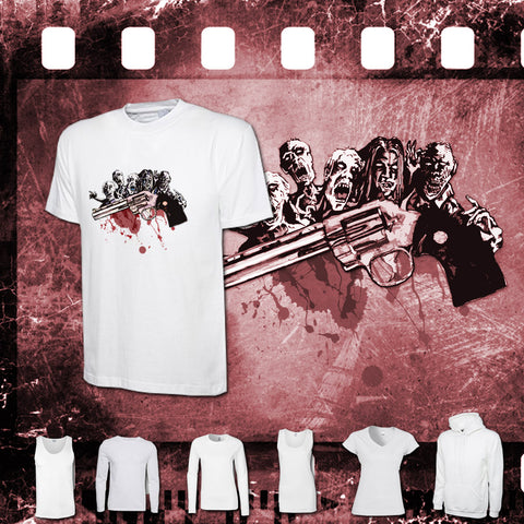 The Walking Dead - Mens and Ladies White Shirt/Hooded Top