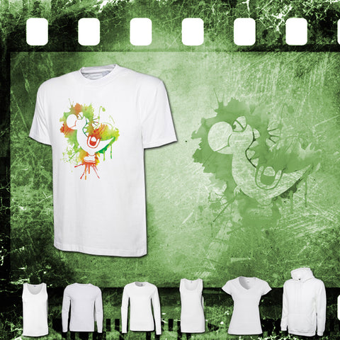 Yoshi - Mario - Mens and Ladies White Shirt/Hooded Top