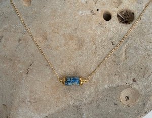 Barrel Tube Necklace