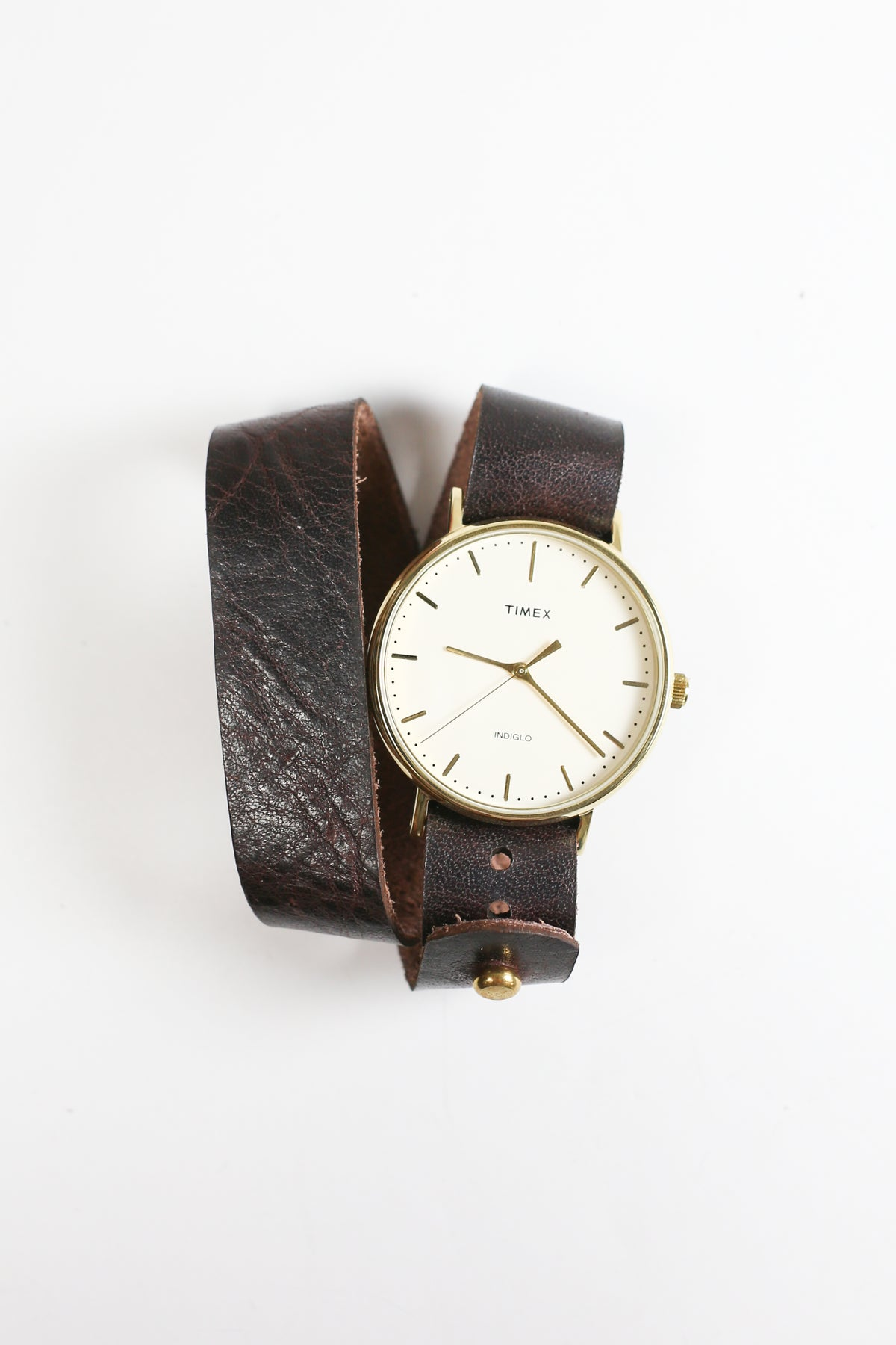 Timex Fairfield - Dark Brown