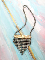 modern vintage necklace