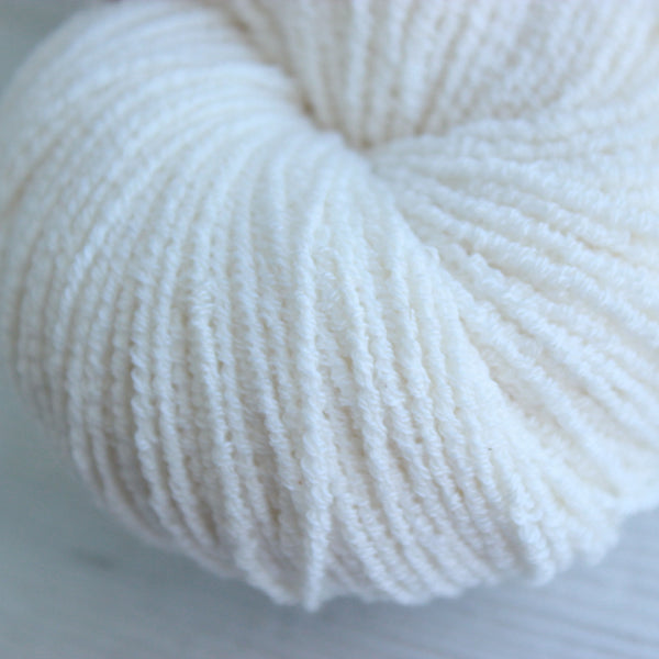 Natural - Pleiades,  Vegan Yarn, Pleiades vegan yarn, wool free, hand dyed yarn, bamboo, organic cotton, fair trade, naturally dyed, cellulose yarn, vegetarian, cruelty free, sock yarn without wool, cotton blend sock yarn, wool alternative, hand dyed wool free yarn, naturally dyed cotton yarn, plant based, vegetal, botanical, ecological, low impact, cruelty free, herbivore, vegetalien, crochet, weave, weaving, crafting, supply, supplies, hand dyed, natural dye
