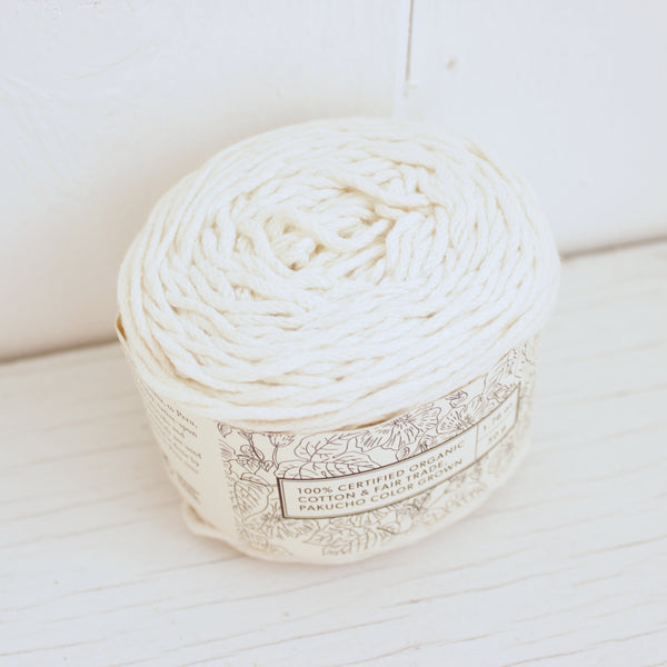Natural - Worsted - Vegan Yarn