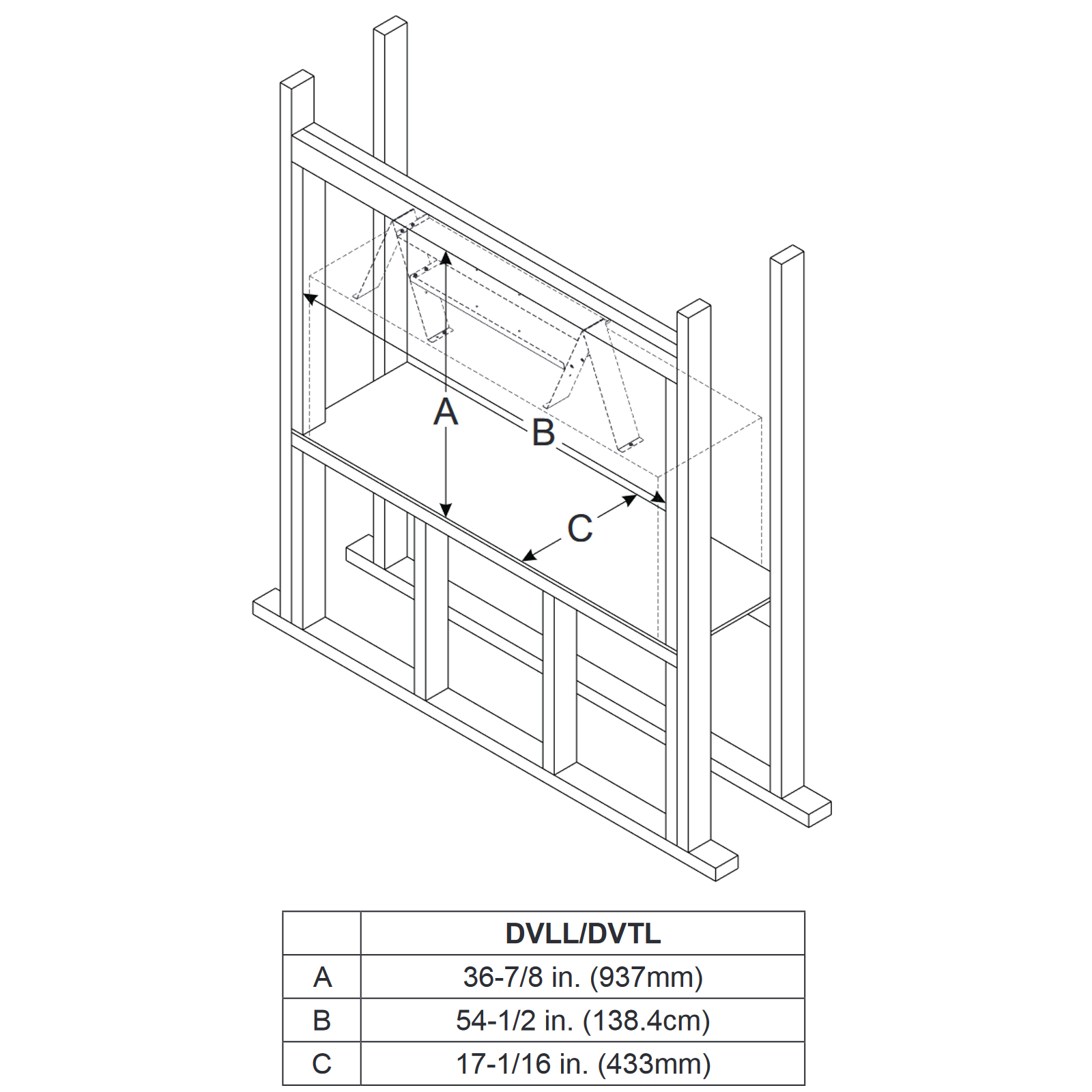 DVTL41 Technical Drawing 2