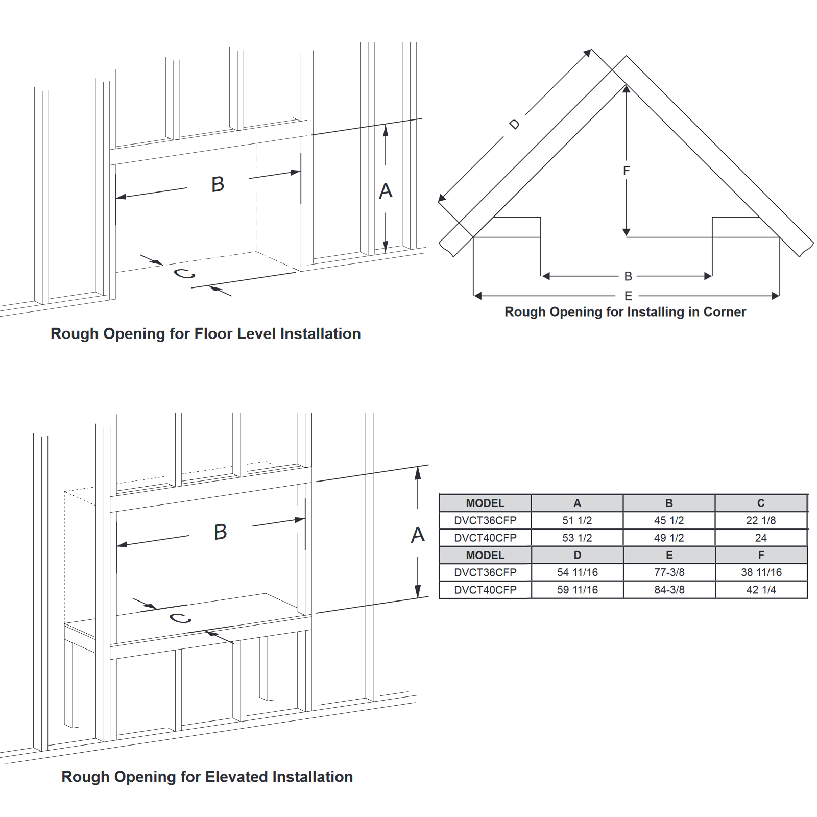 DVCT36 Technical Drawing 2