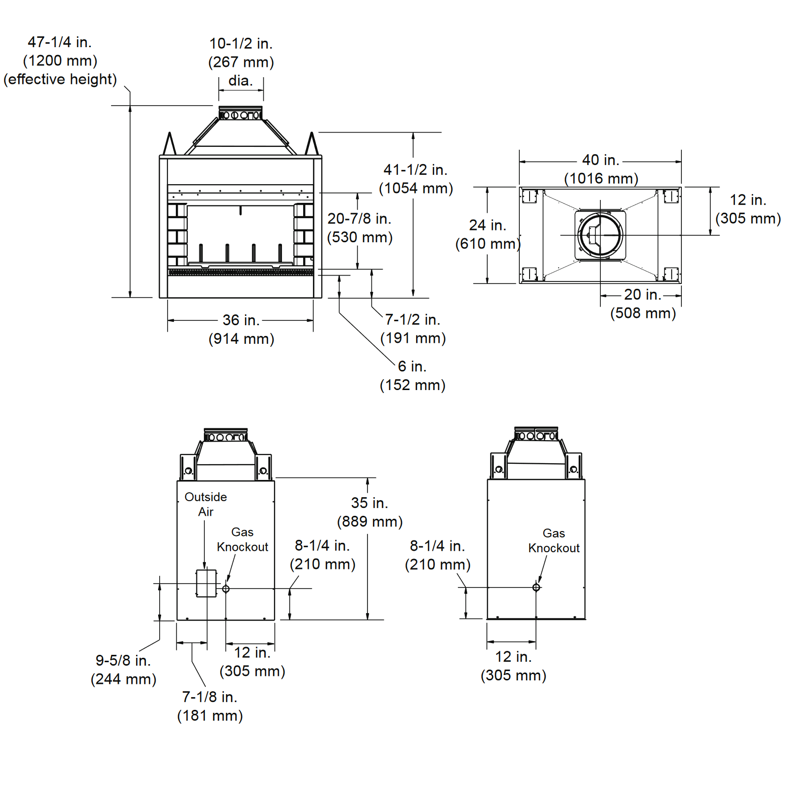 DSR36 Technical Drawing 1