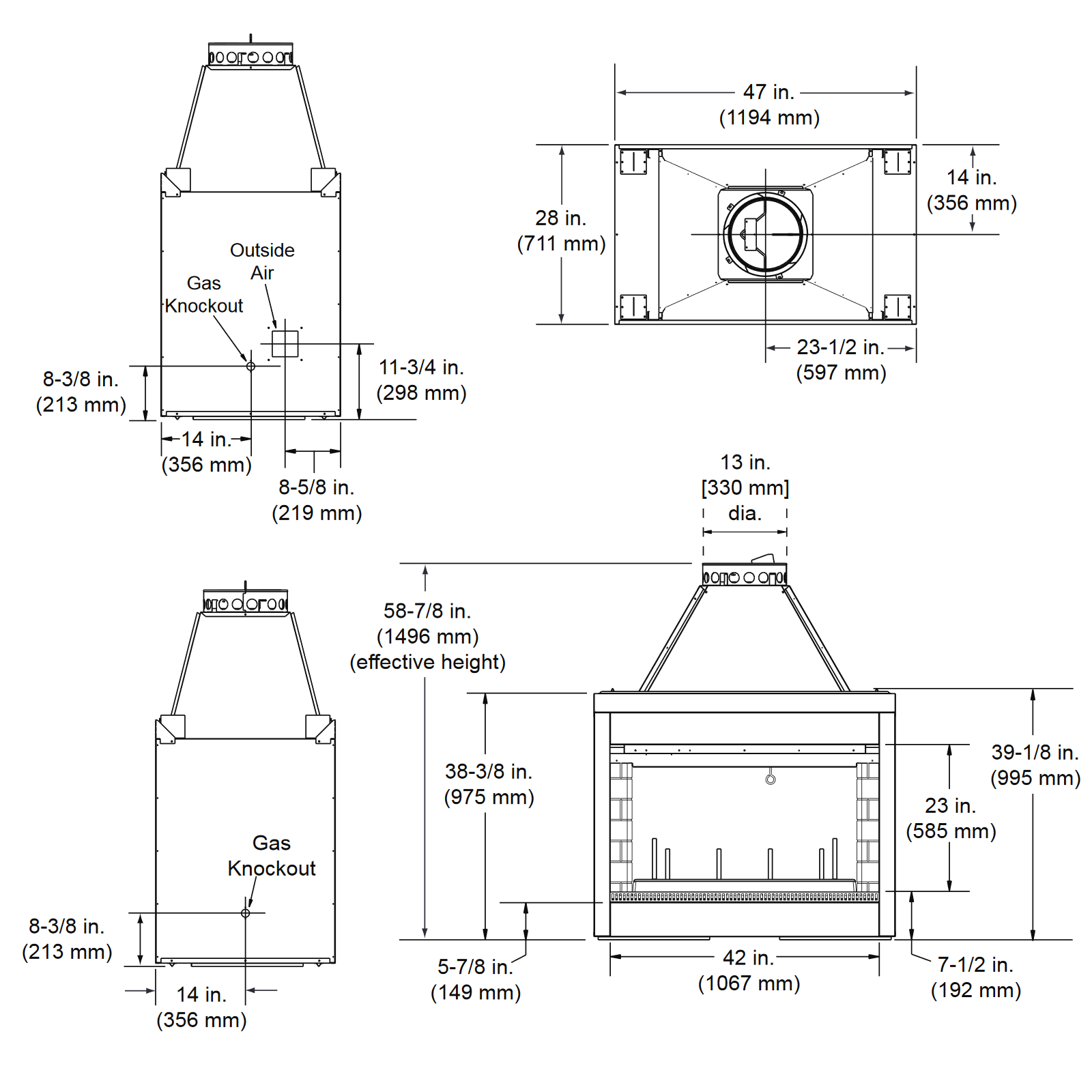 DSR42 Technical Drawing 1