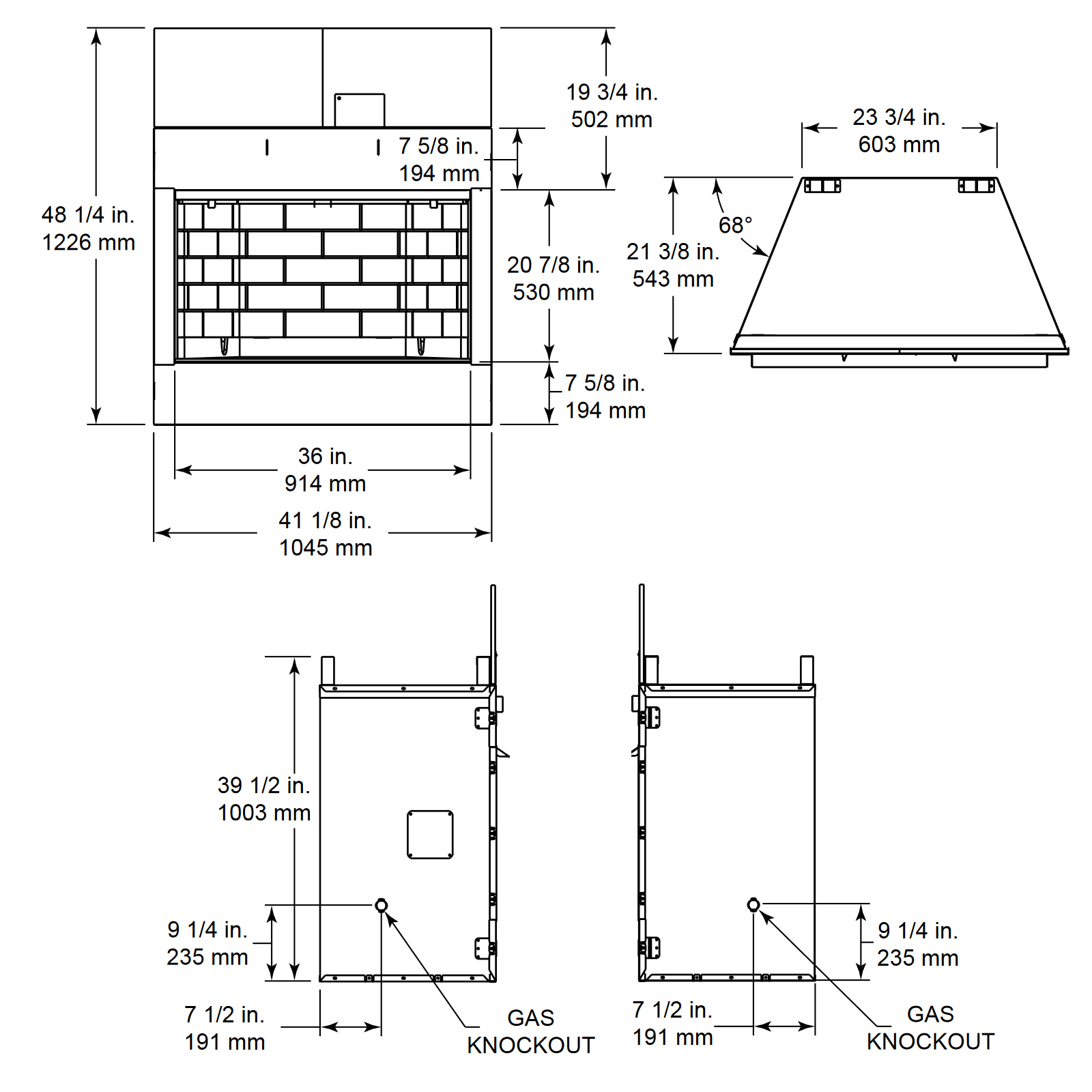 ODVILLAG-36 Technical Drawing 1