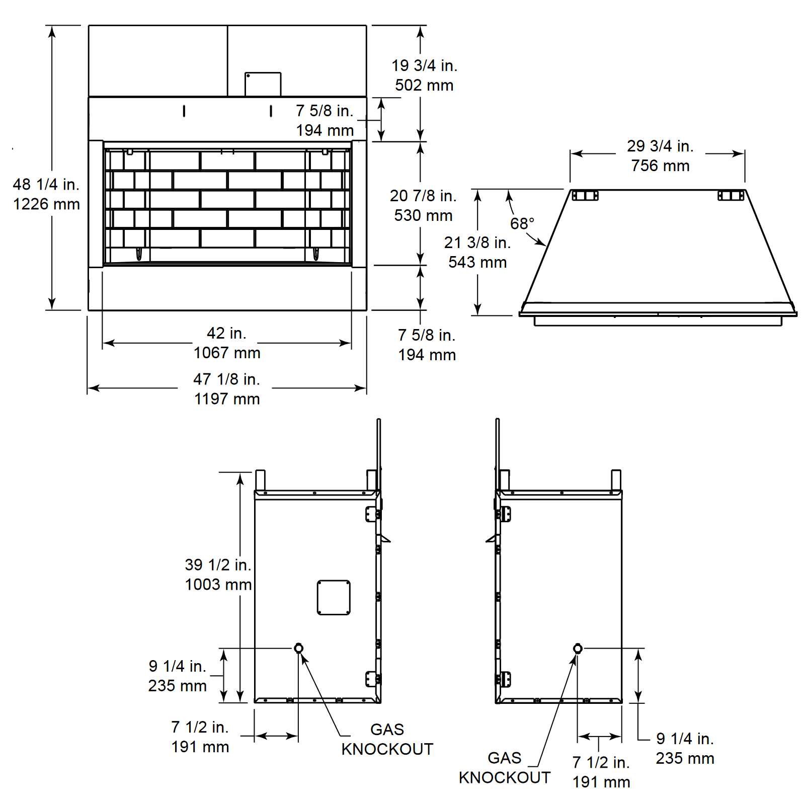 ODVILLAG-42 Technical Drawing 1