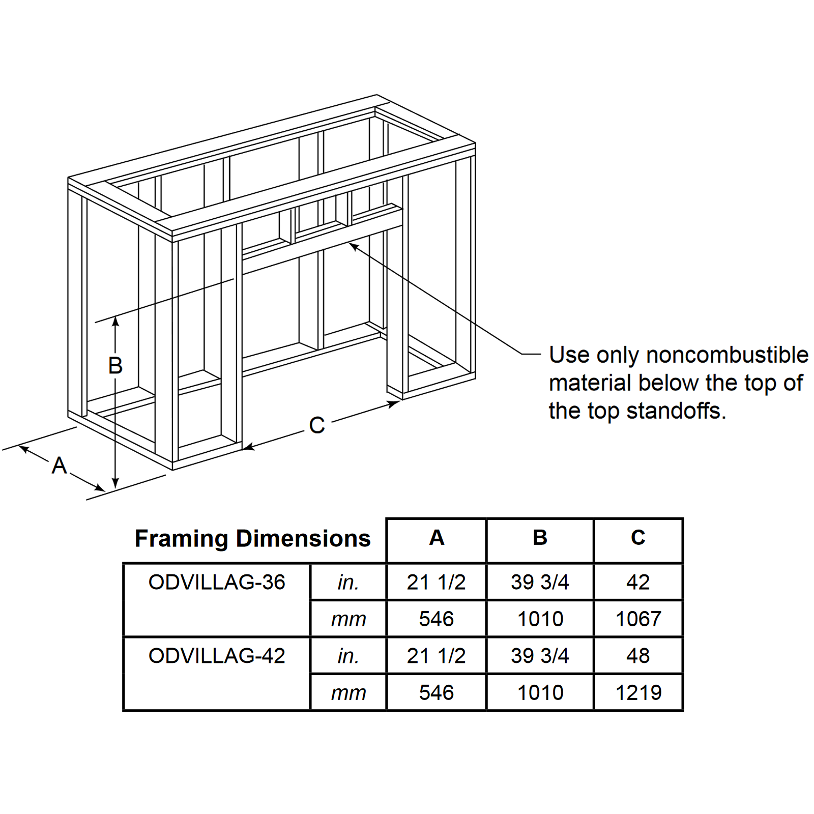 ODVILLAG-42 Technical Drawing 2