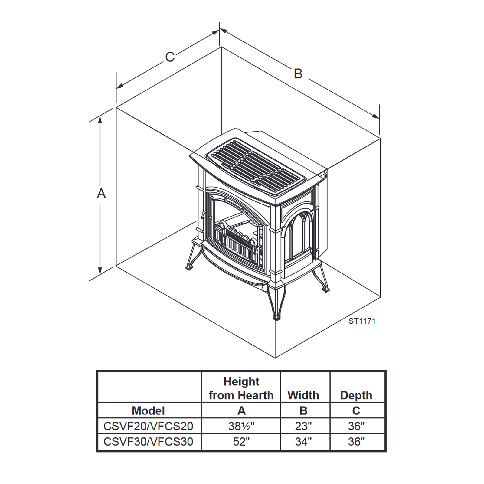 CSVF30 Technical Drawing 2