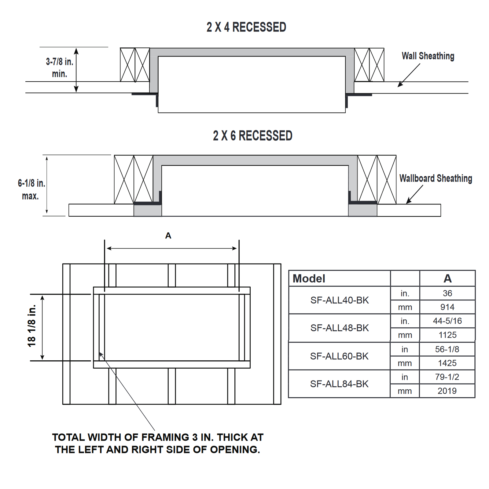 SF-ALL48 Technical Drawing 2