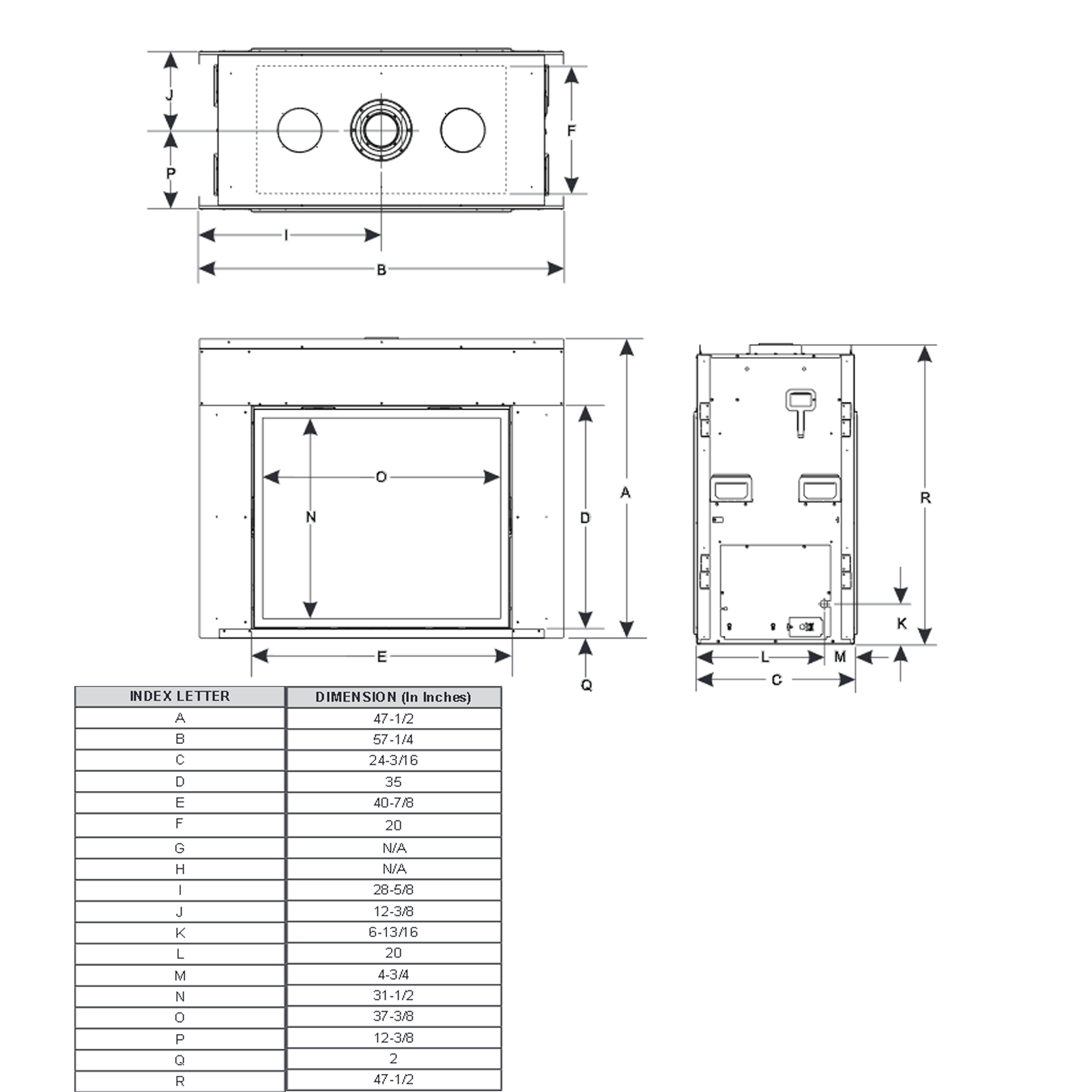 DVCT40 Technical Drawing 1