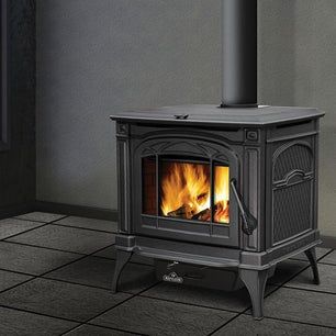 Napoleon Banff 1400CP Cast Iron Metallic Black Wood Stove