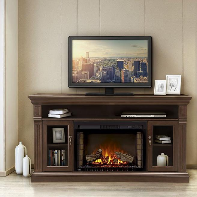 Napoleon The Canterbury Electric Fireplace And Mantel Package Nefp29