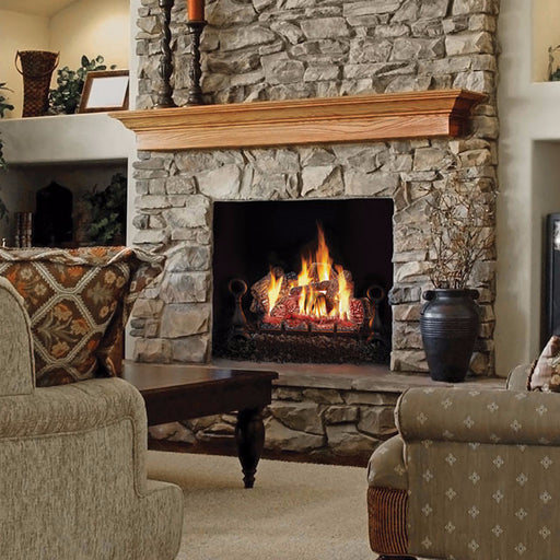 "Napoleon Fiberglow GL30NE 30"" Gas with Burner Gas Log Sets 