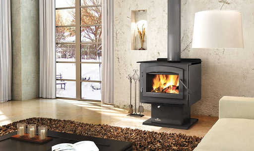 Napoleon Independence 1450M Metallic Black Medium Wood Stove | 1450M