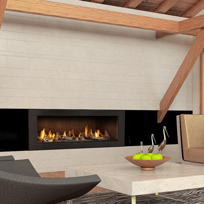 Napoleon Linear LHD62 Linear Gas Fireplace | LHD62NSB