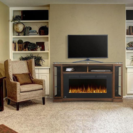 Napoleon The Shelton Electric Fireplace and Mantel | NEFP42-1715BW