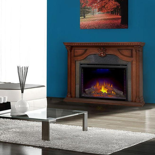 Napoleon The Aden Electric Fireplace and Mantel package | NEFP40-0714C