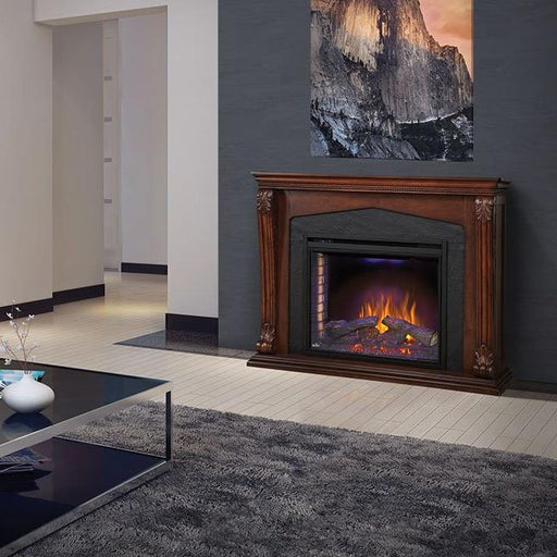 Napoleon The Monroe Electric Fireplace and Mantel | NEFP33-0314BW