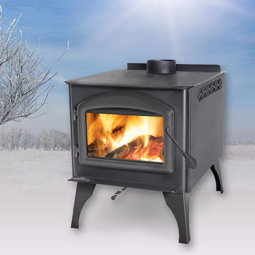 Napoleon Huntsville Leg Model Medium Wood Stove | 1400ML