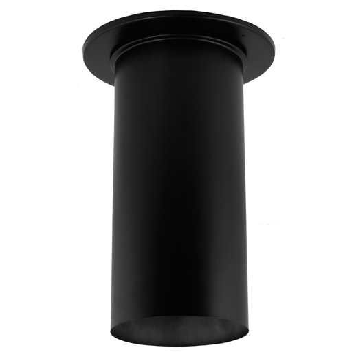 "DuraVent DB 6"" Diameter Black 22 Gauge Slip Connector 