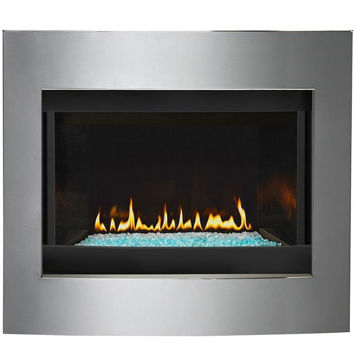 Napoleon Crystallo Top Rear Direct Vent Gas Fireplace