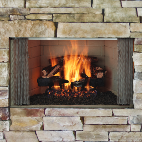 Majestic Villawood 36 Outdoor Wood Fireplaces | ODVILLA-36