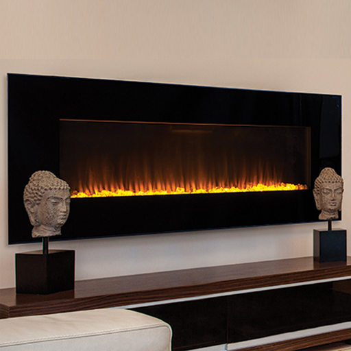 Superior 60 Inch Radiant Linear Electric Fireplace | ERC4060